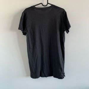 Aritzia Tops - wilfred free black t shirt with beaded design